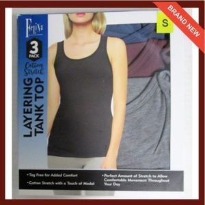 192471858b Felina Intimates   Sleepwear - Women s Felina 3-Pack Layering ...